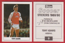 Arsenal Tony Adams England 9